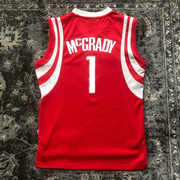 release date: 31c95 146a7 Houston Rockets Tracy McGrady Reebok Kids' Jersey